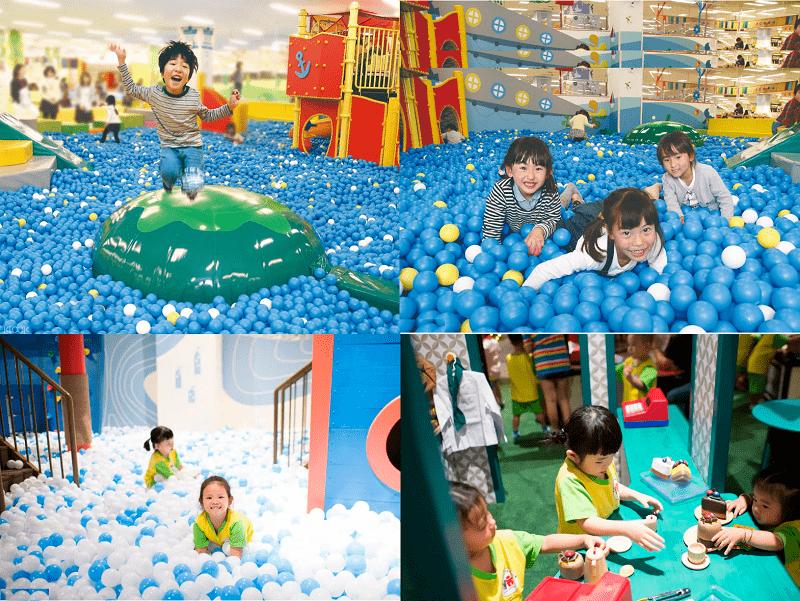 Địa điểm vui chơi cho trẻ em ở Sài Gòn. Kidzooona