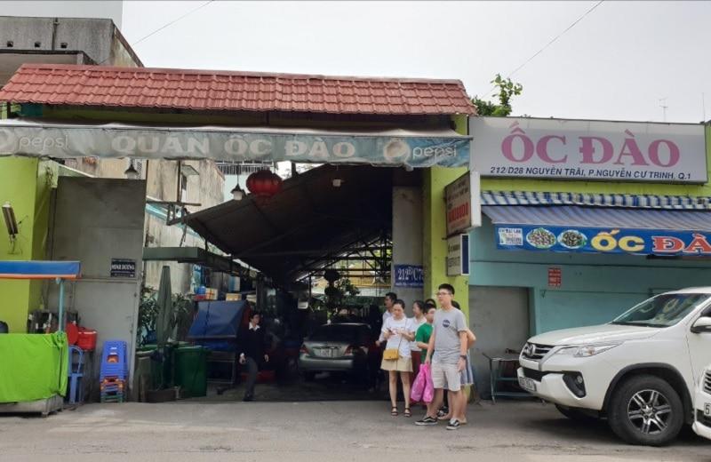 Ăn gì ở quận 1 Sài Gòn? Quán ăn ngon rẻ quận 1. Quán ốc Đào