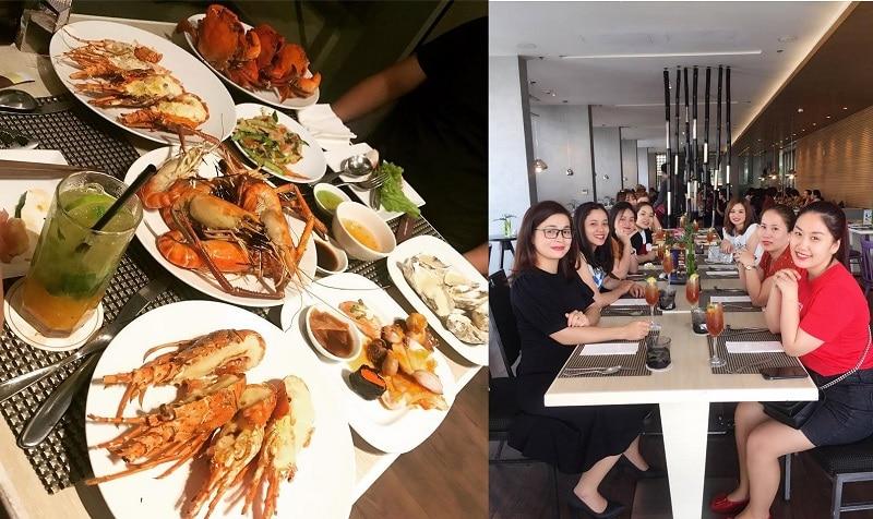 Ăn buffet hải sản ở tphcm ngon, hấp dẫn nhất. Nhà hàng buffet hải sản ở Sài Gòn