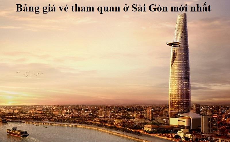 Bảng giá vé các điểm tham quan ở Sài Gòn mới nhất