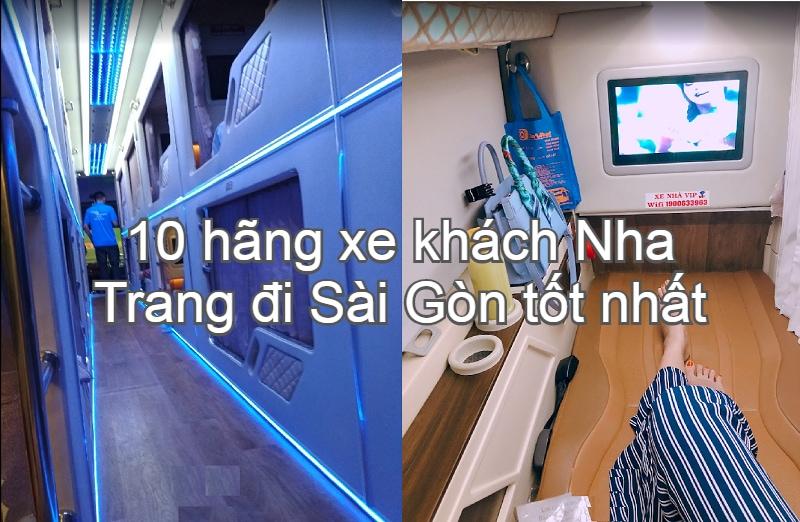 Xe khách Nha Trang đi tphcm tốt nhất kèm giá vé, điện thoại