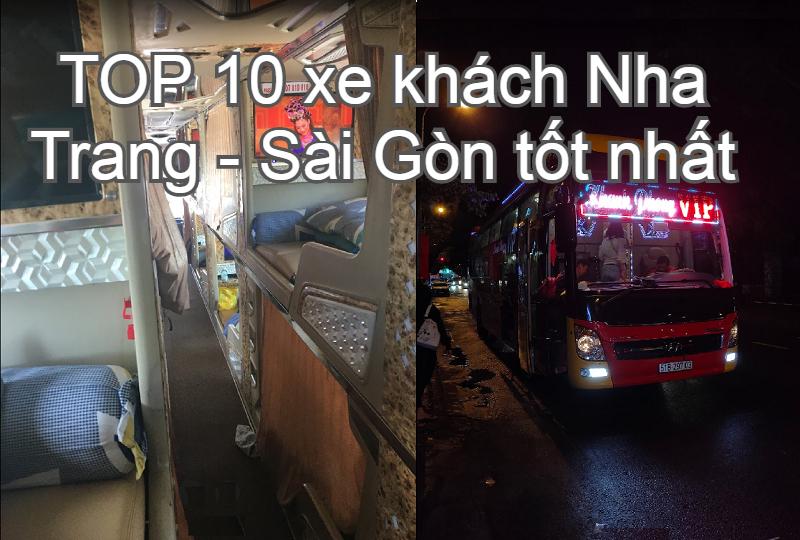 Xe khách Nha Trang đi Sài Gòn chất lượng tốt nhất. Từ Nha Trang đi tphcm có hãng xe nào?