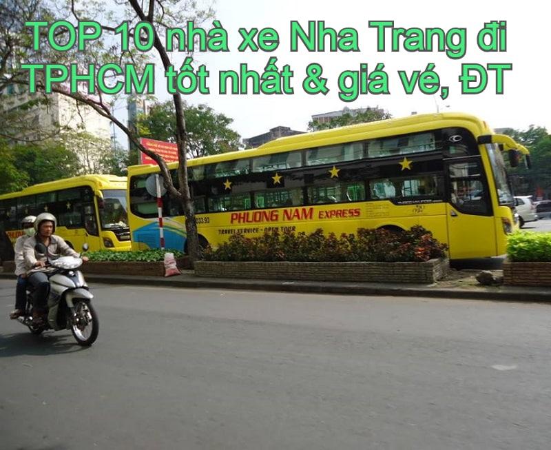 Xe khách Nha Trang đi tphcm giá rẻ, chất lượng nên chọn. Danh sách các nhà xe đi Sài Gòn từ Nha Trang