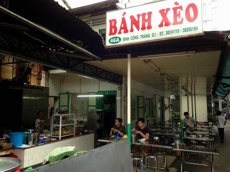 Quán bánh xèo chất lượng ở Sài Gòn