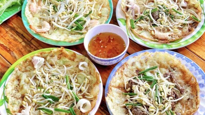 Quán bánh xèo giá rẻ ở Sài Gòn