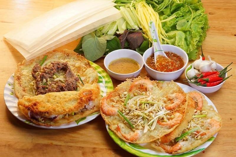 Bánh xèo ngon rẻ ở Sài Gòn