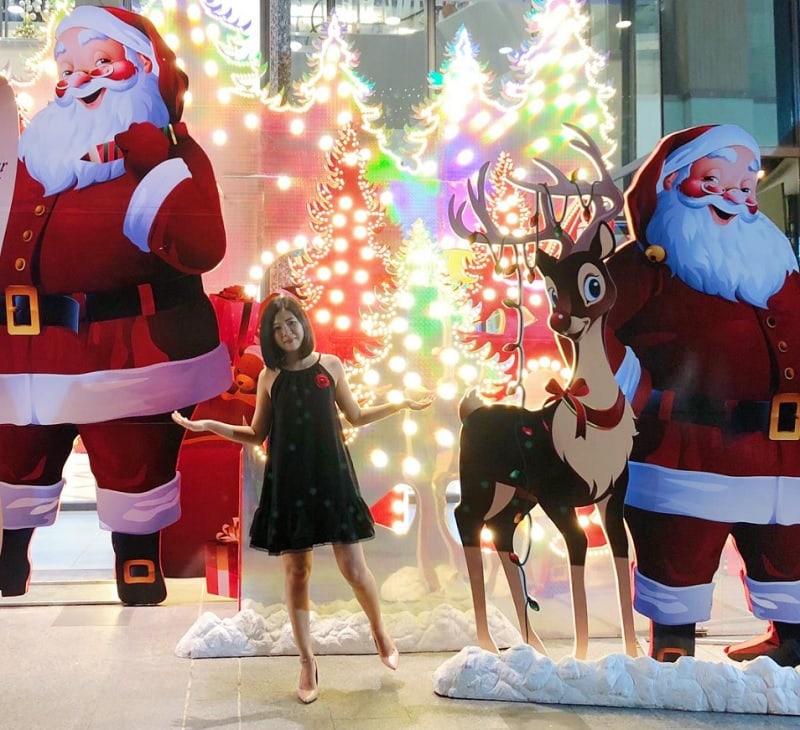Địa điểm đón giáng sinh ở Sài Gòn. Takashimaya, địa điểm vui chơi Noel mới ở Sài Gòn