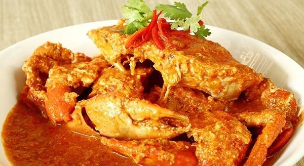 Cua bể (sốt ớt/ hạt tiêu) - món hải sản ngon, phổ biến nhất Singapore