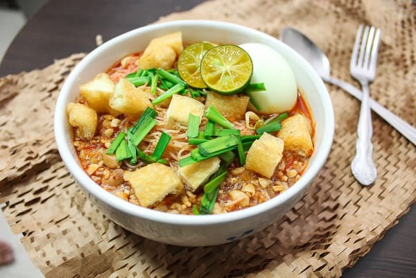 Mì Xiêm - món ăn ngon ở Singapore