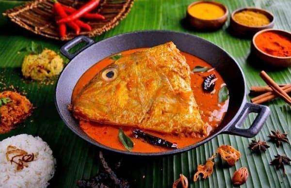 Top những món ăn vặt ở Singapore siêu ngon. Cà ri Ấn Độ. Những món ăn vặt ở Singapore