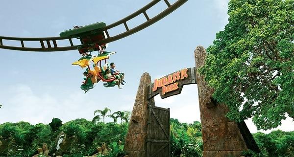 Chơi gì ở Universal Studio Singapore? Kinh nghiệm đi chơi ở Universal Studio Singapore. Canopy Flyer