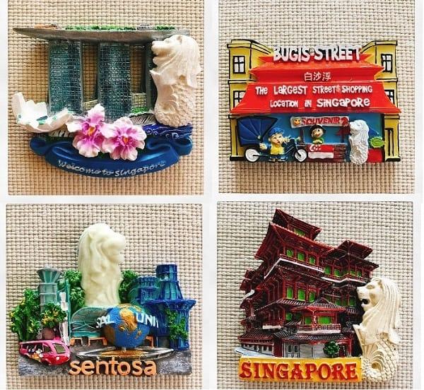 Đi Singapore nên mua gì làm quà? Mua đồ lưu niệm