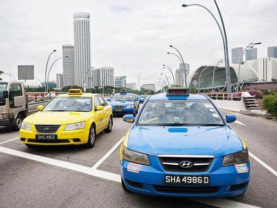 Di chuyển từ sân bay Changi vào Singapore, taxi là phương tiện thuận tiện là nhanh chóng nhất