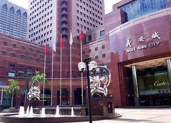 Ngee Ann City, địa chỉ mua sắm giá rẻ ở Singapore chuyên hàng Nhật