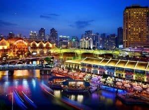 Du lịch Singapore nên ở đâu? Clarke Quay nếu muốn thưởng thức cuộc sống về đêm