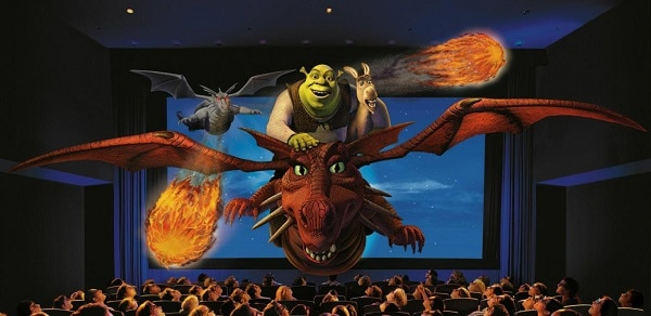 Kinh nghiệm đi chơi Universal Studio Singapore. Chơi gì ở Universal Studio Singapore? Xem phim 4D Shrek