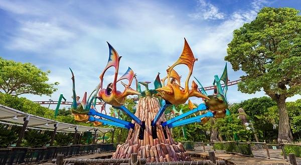 Kinh nghiệm đi chơi Universal Studio Singapore mới nhất Dino Soarin. Chơi gì ở Universal Studio Singapore?
