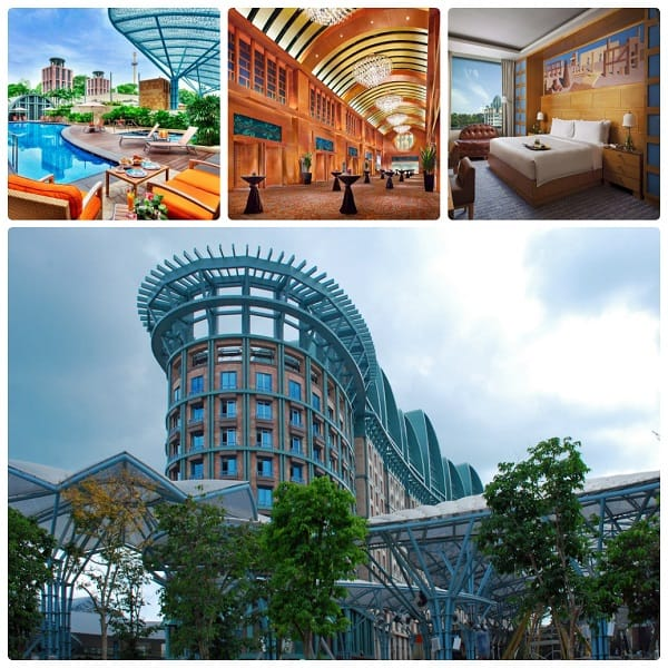Kinh nghiệm du lịch dảo Sentosa, Hotel Michael là một trong những khách sạn tốt ở đây