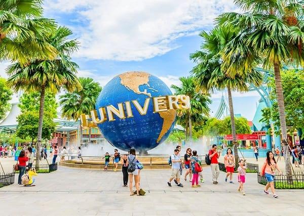 Kinh nghiệm du lịch đảo Sentosa, khám phá công viên giải trí Universal Studio Singapore