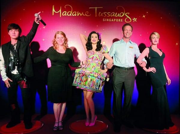Kinh nghiệm du lịch đảo Sentosa, tham quan bảo tàng Madame Tussauds Singapore