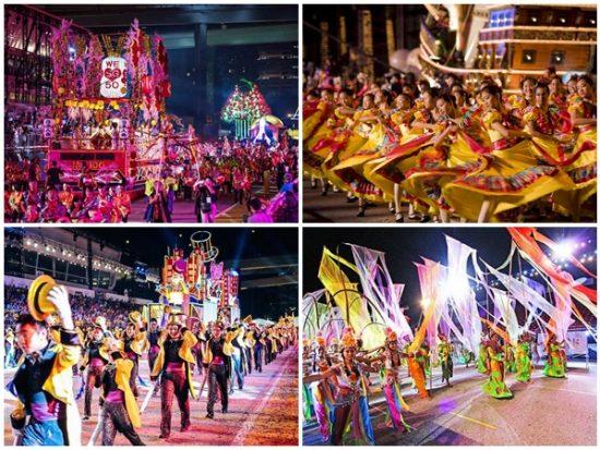 Top lễ hội, sự kiện lớn nhất ở Singapore. Lễ diễu hành