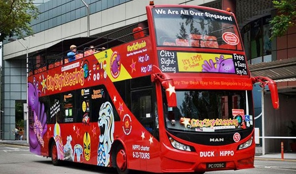 Những điều cần lưu ý khi du lịch Singapore. Lưu ý khi sử dụng xe bus ở Singapore
