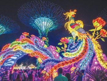 Tết trung thu ở Singapore. Lễ hội đoàn viên ở Singapore