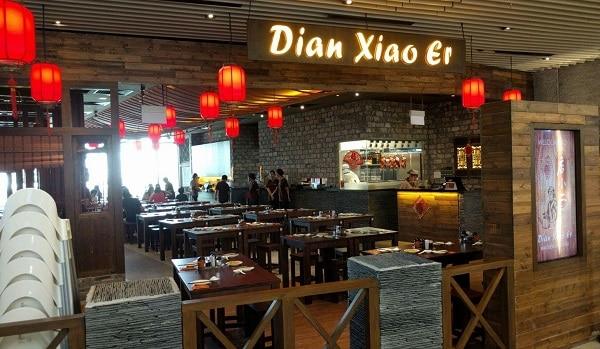 Dian Xiao Er là nhà hàng Trung Quốc trong trung tâm thương mại VivoCity