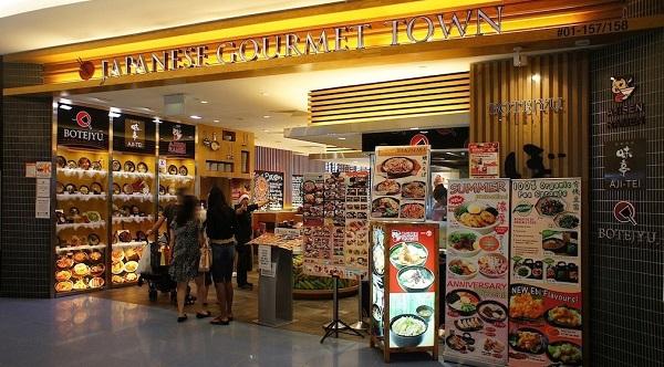 Japanese Gourmet Town là quán ăn ở trung tâm thương mại VivoCity ngon, giá rẻ
