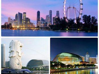 Đi vòng quay Singapore Flyer ngắm cảnh thành phố