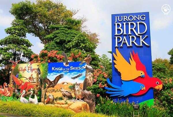 Cổng vào công viên Jurong