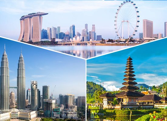 Kinh nghiệm du lịch Singapore Malaysia Indonesia