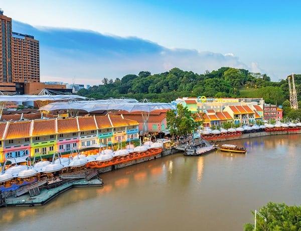 Khu vui chơi và giải trí về đêm ở Singapore