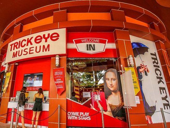 Giá vé tham quan bảo tàng Trick Eye Singapore bao nhiêu?