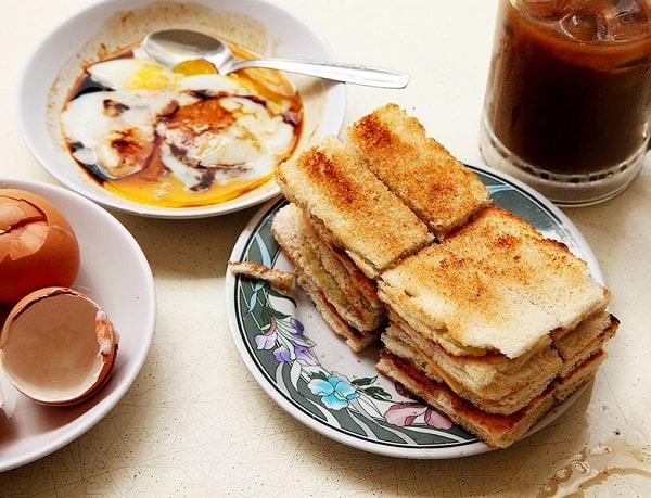 Top những địa chỉ ăn Kaya Toast ở Singapore ngon nhất