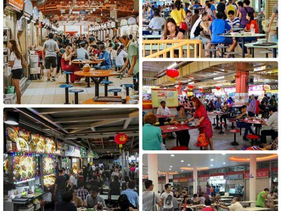 Các khu ẩm thực nổi tiếng ở Singapore