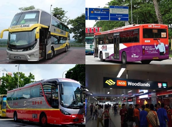 Cách di chuyển từ Singapore đến Kuala Lumpur. Đi lại bằng xe bus từ Singapore đến Kuala Lumpur