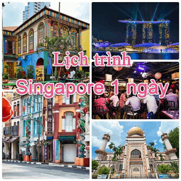 Đi đâu, chơi gì ở Singapore 1 ngày?