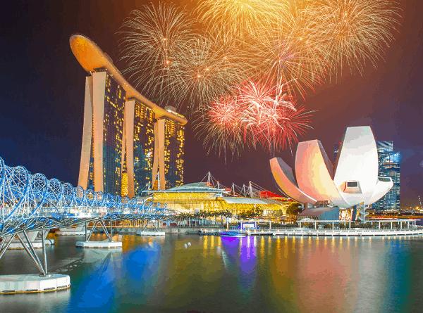 Gợi ý những địa điểm xem pháo hoa đẹp nhất Singapore