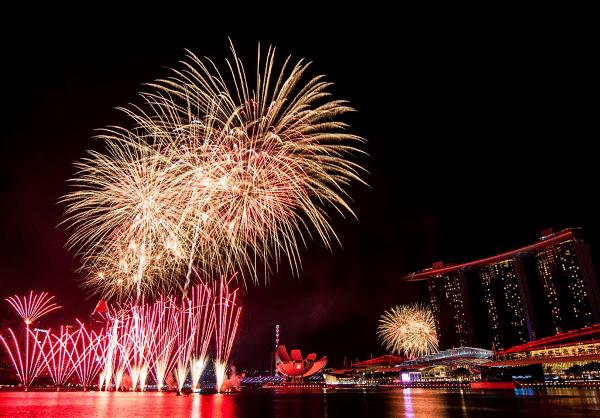 The Promontory, một trong những nơi xem bắn pháo hoa ở Singapore