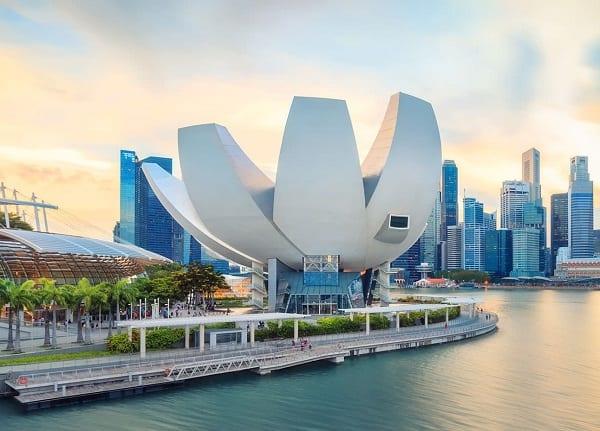 Artscience Museum, một địa điểm chụp ảnh ở Singapore đẹp, thú vị