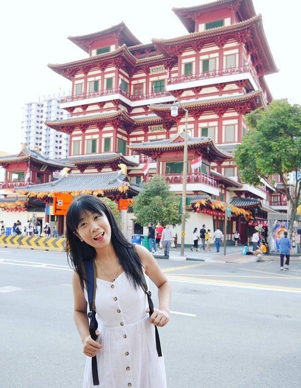 Địa điểm chụp ảnh đẹp ở Singapore, Buddha Tooth Relic Temple