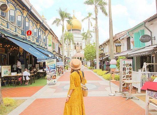 Phổ Ả Rập, địa điểm du lịch ở Bugis và Kampong Glam
