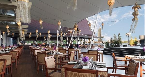 5 Nhà hàng hải sản nổi tiếng ở Bangkok Thái Lan. Nhà hàng hải sản giá rẻ Wiew đẹp Riverside Terace