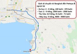 Cách di chuyển từ Bangkok đến Pattaya và ngược lại: Từ Bangkok đến Pattaya bằng phương tiện gì, giá vé bao nhiêu?