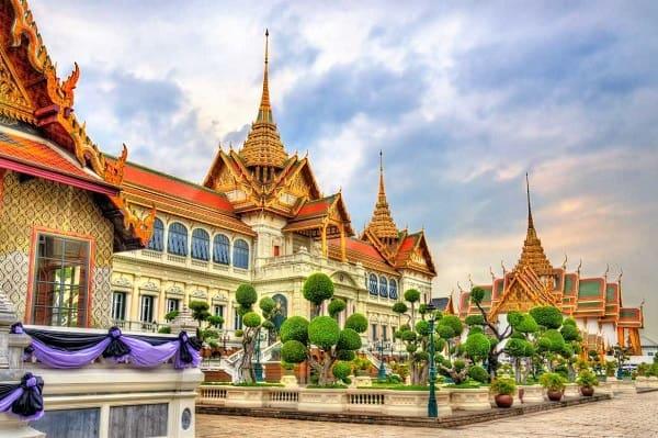 Kiến trúc độc đáo ở cung điện Hoàng gia Grand Palace