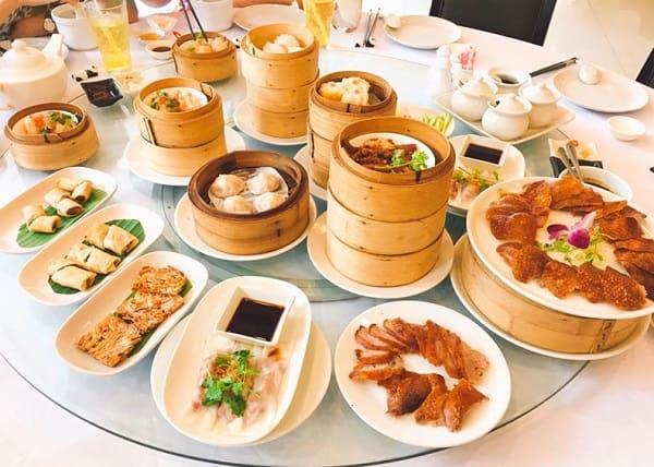 Địa chỉ ăn buffet dimsum ở Bangkok: nhà hàng buffet Trung quốc Tai He Xuan