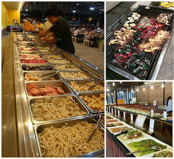 Địa chỉ ăn buffet ở Bangkok, đến Bar-BQ Resort thương thức nhiều món ăn hấp dẫn