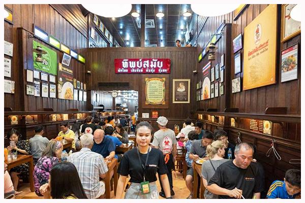 Địa điểm ăn đồ Thái ngon nhất Bangkok: nhà hàng Pad Thai với món Pad Thái cực ngon