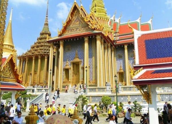 Đại sảnh chiêu đãi của Hoàng gia - Nơi thu hút khách tham quan tại cung điện Hoàng Gia Thái Lan